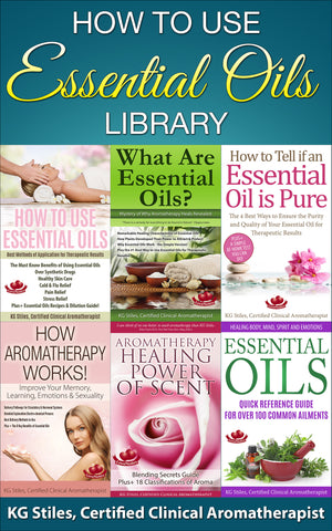 How to Use Essential Oils Library - BUY 6 BOOK BUNDLE & SAVE - By KG Stiles-ebook-PurePlant Essentials