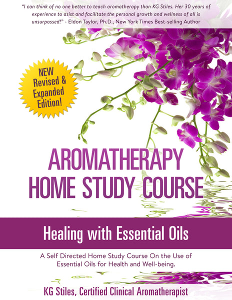 Aromatherapy Home Study Course - ON SALE! - KG Stiles, Instructor-ebook-PurePlant Essentials
