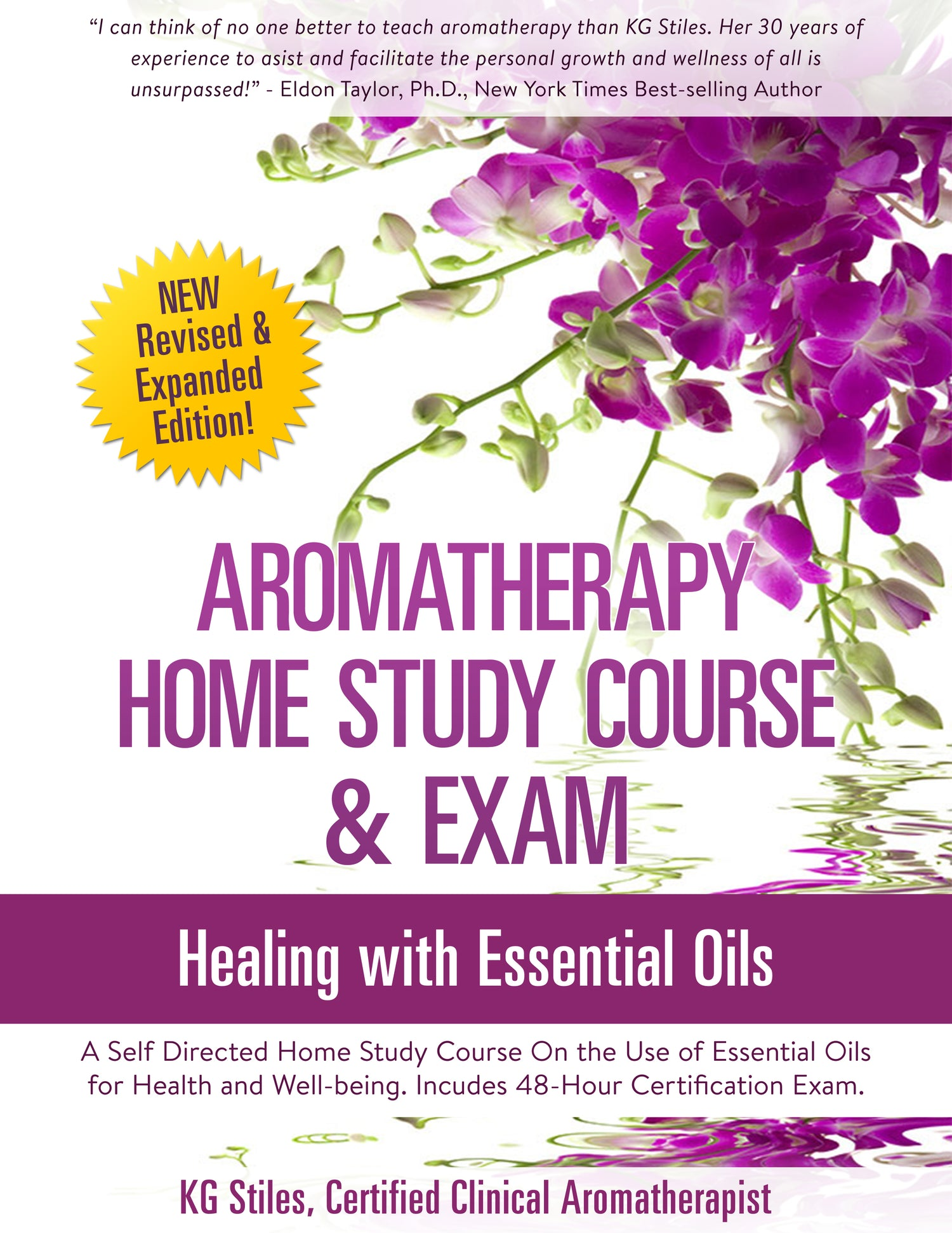Aromatherapy Home Study Course & Certification Exam ON SALE! KG Stiles,  Instructor