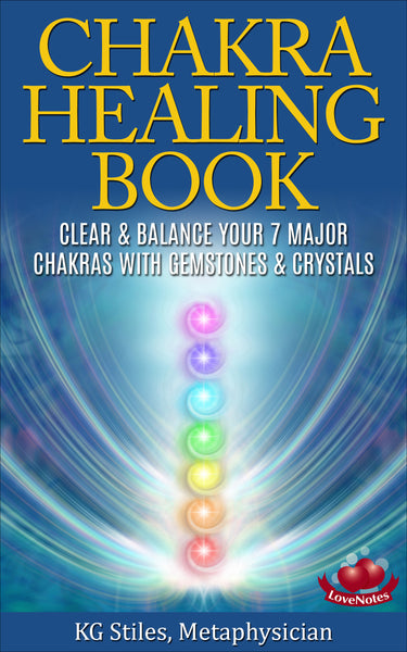 CHAKRA HEALING BOOK - Clear & Balance Your 7 Major Chakras - with Gemstones & Crystals-ebook-PurePlant Essentials