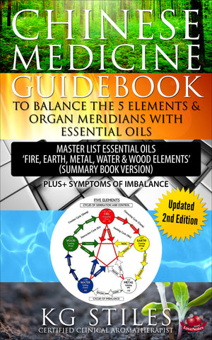 Chinese Medicine Guidebook - Balance the 5 Elements & Organ Meridians - with Essential Oils - By KG Stiles-ebook-PurePlant Essentials