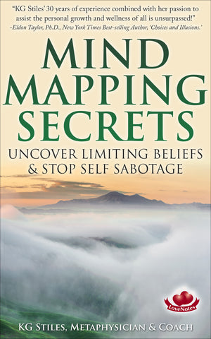 MIND MAPPING SECRETS - Uncover Limiting Beliefs & Stop Self Sabotage - By KG Stiles-ebook-PurePlant Essentials