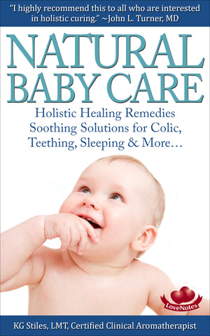Natural Healing Baby Massage - By KG Stiles-ebook-PurePlant Essentials