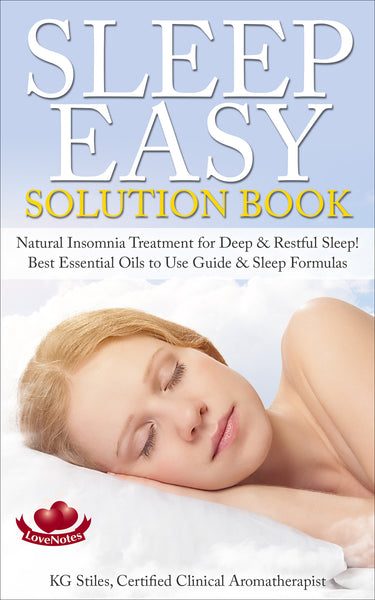 Easy Sleep Solution Book - Natural Insomnia Treatment for Deep & Restful Sleep - By KG Stiles-ebook-PurePlant Essentials