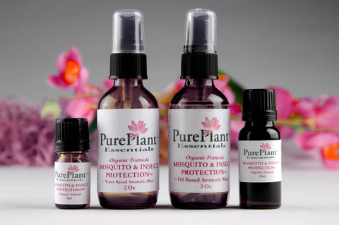 Mosquito & Insect Protection Formula -- Powerful Protection from Pests-Essential Oil-PurePlant Essentials