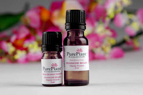 Headache Relief -- Tension & Migraine Headaches -- Ready-to-use 10% Dilution-Essential Oil Dilution-PurePlant Essentials