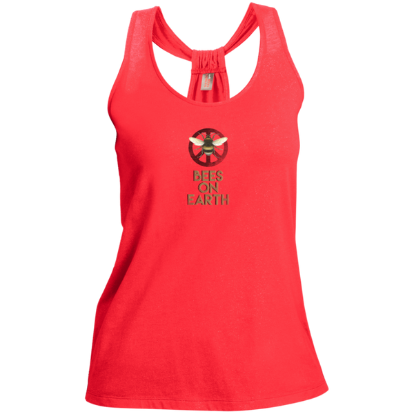 A Lady Shimmers Loop Back Tank