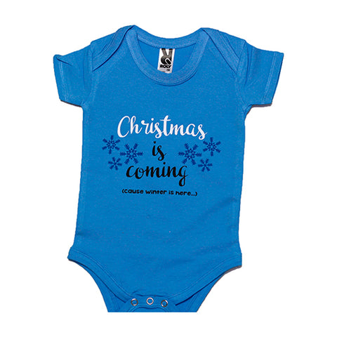 Body bebe personalizado Christmas is Coming