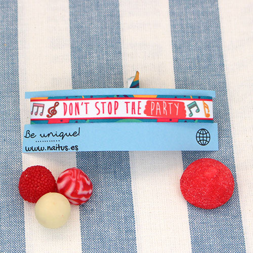 Pulsera: Don't Stop the party