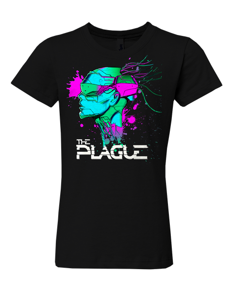 "The Plague girls ""Skull Splat"" T-shirt"
