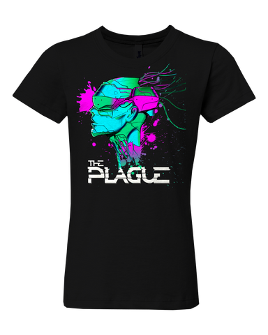 SKULL SPLAT GIRLS T-SHIRT