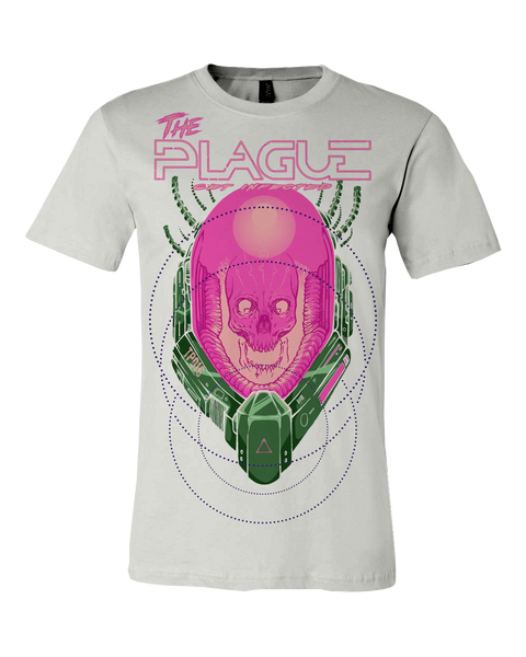 "The Plague ""Spaceskull"" T-shirt"
