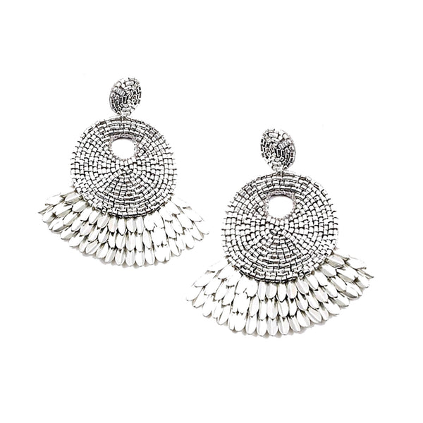 Silver Statement Earring