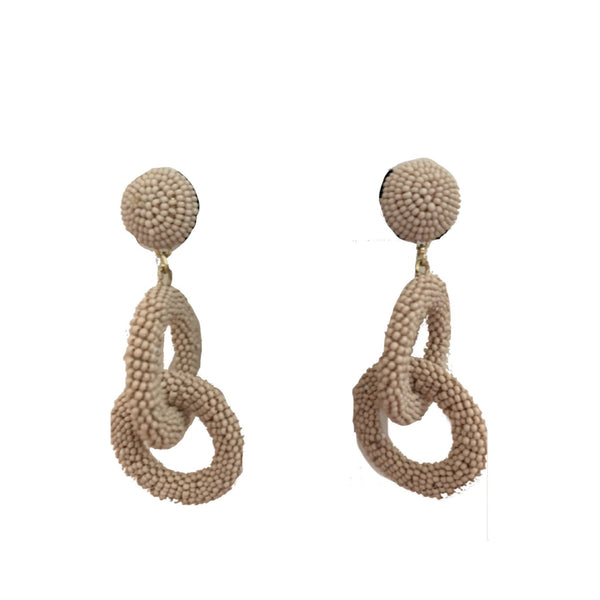 Cool Wave Earrings Royal Neutral