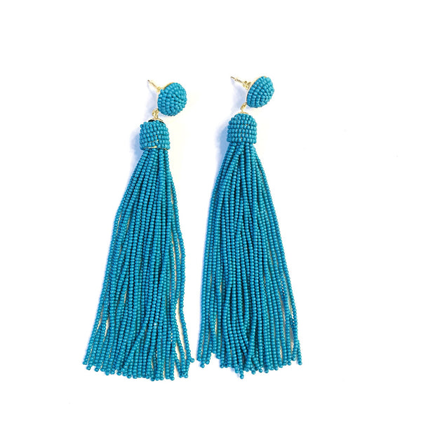Deep Tassel Earring (2 Colors)