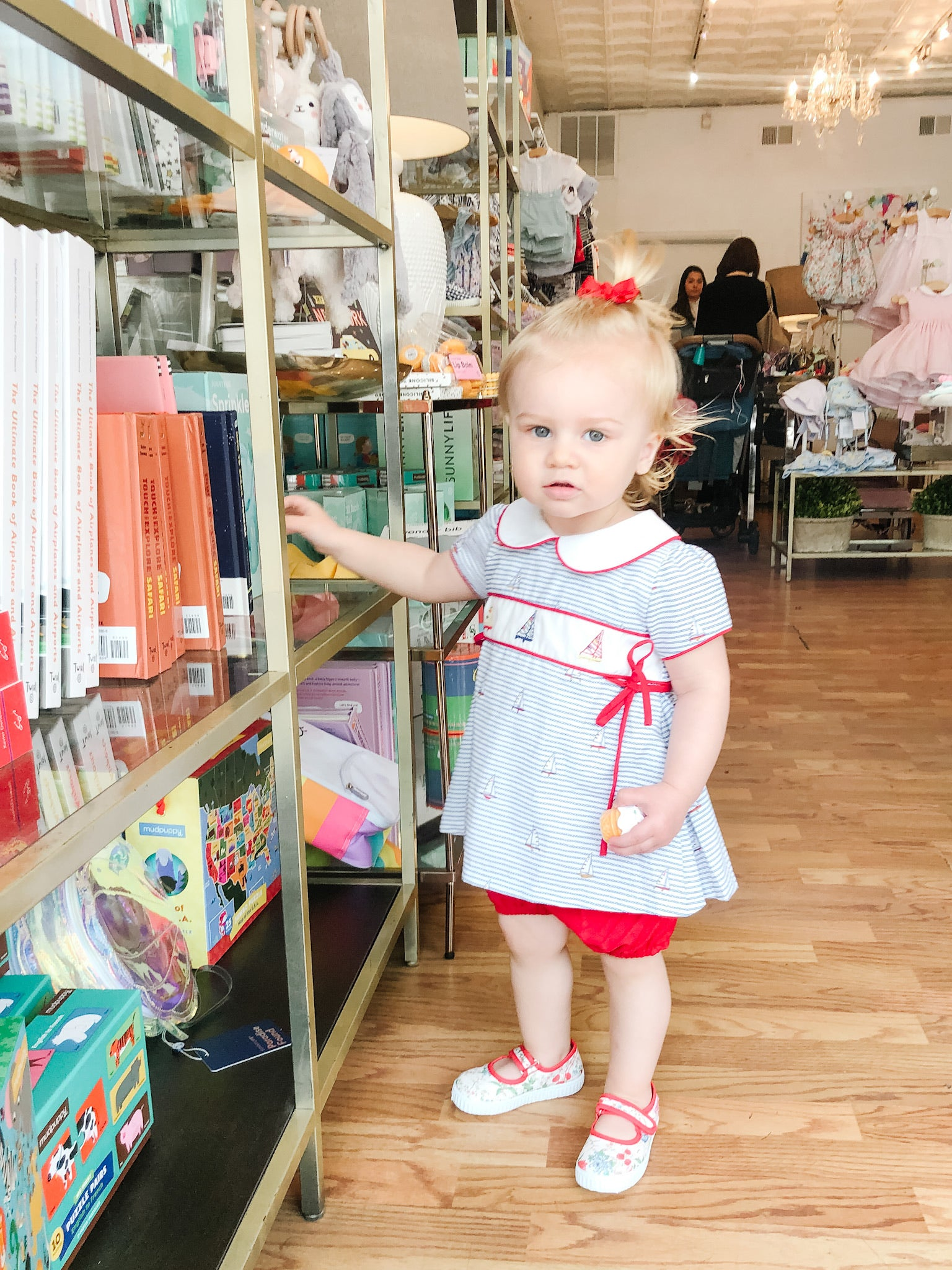 Anina Belle Gianinni at Little Birdies Boutique in Georgetown