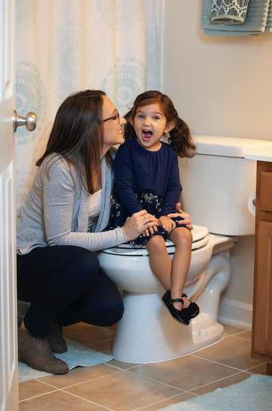 is it the right time to start potty training?  By Allison Jandu