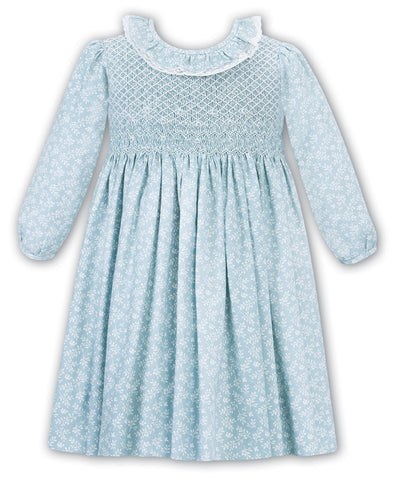 Mint Green Smocked Dress