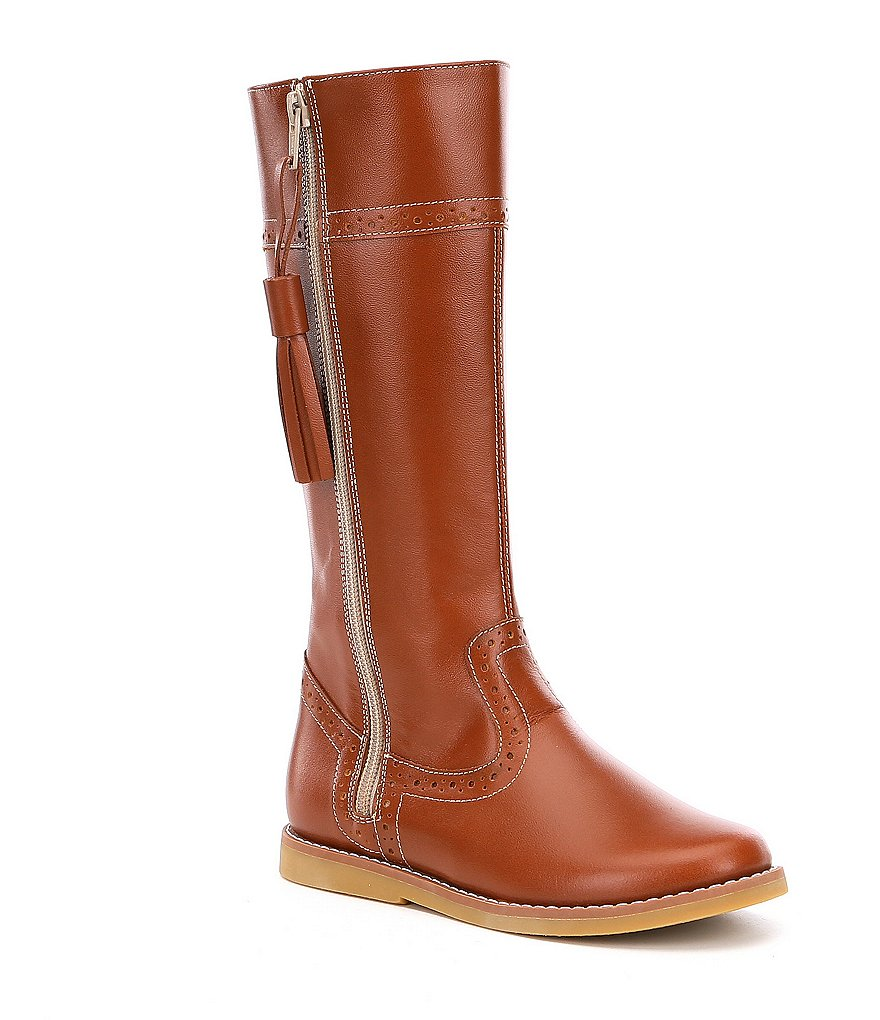 Elephantito girls riding boot in tan