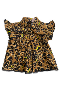 Limelight Leopard Dawson Top
