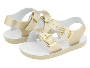 salt water sandal gold surfer sun san hoy shoe company