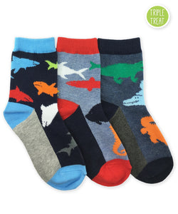 Water Animals Crew Sock