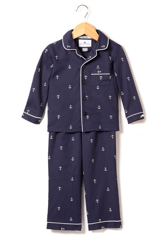Nautical Navy Anchor Pajamas