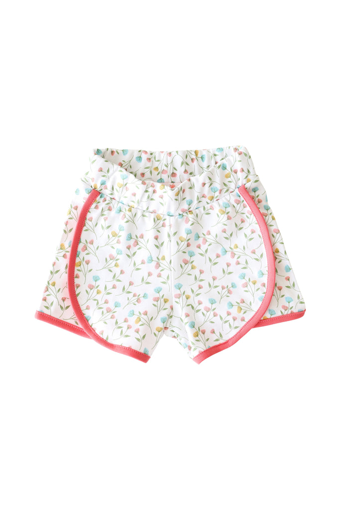 Pineapple Sunshine Pink Arabella Play Shorts