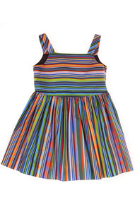Emaline Striped Dress