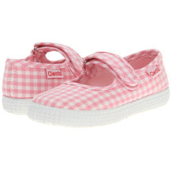 Pink Gingham Mary Jane