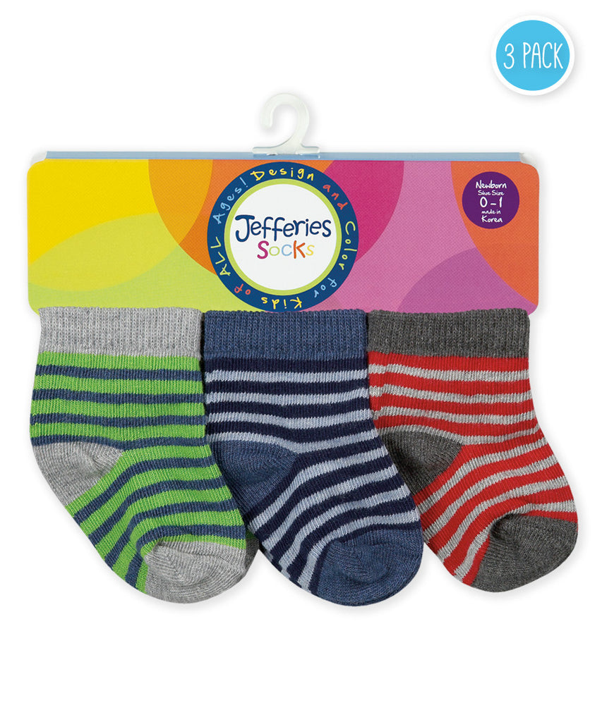 Striped Infant Sock Set