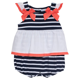 patachou baby girl cruise romper