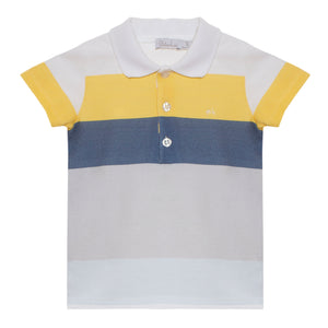 Patachou boys color block polo spring 20 summer