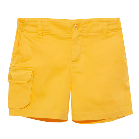 Patachou boys yellow shorts spring 20