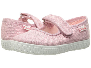 Pink Sparkle Mary Janes