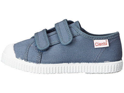 Grey Double Strap Canvas