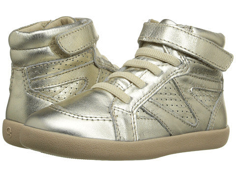 Gold Cheerleader High Top