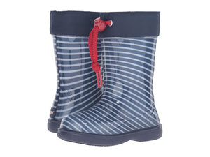 Striped Rain Boot