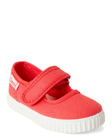 girls cienta mary jane coral pink