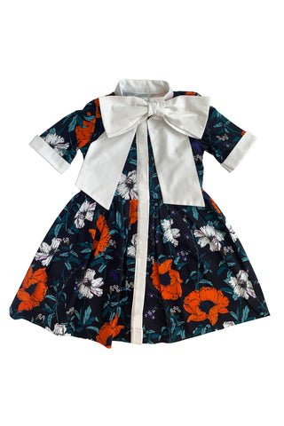 harrison bell hunter bell girls fall floral polly dress
