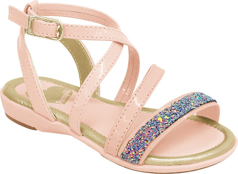 Pampili girls pink sparkle sandal