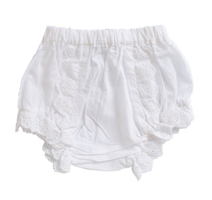 White Eyelet Bloomer