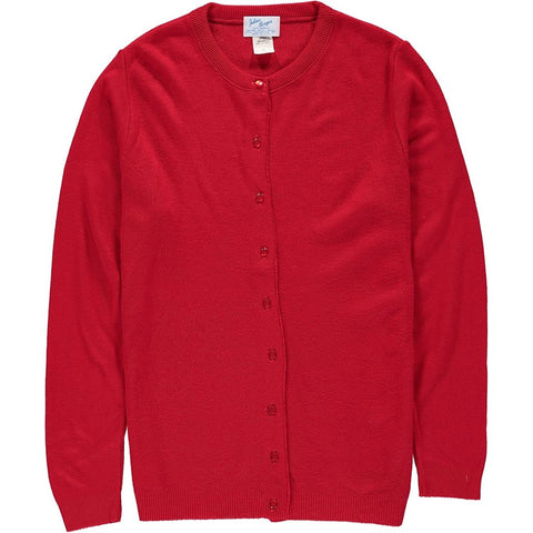 Classic Cardigan in Red