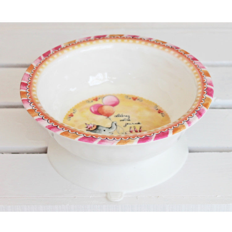 Celebrate Your Day Suction Bowl