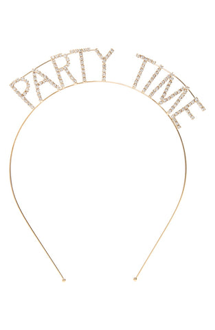 "Crystal ""Party Time"" Headband"