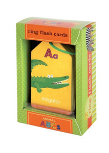 Animal ABCs Ring Flash Cards