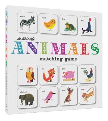 ANIMALS matching game