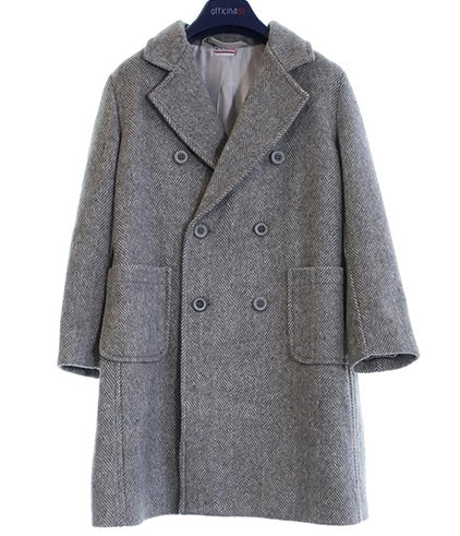 Officina 51 boys peacoat made in italy