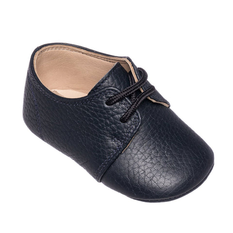 Oxford Crib Shoe- Navy