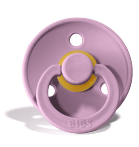 bibs pacifier in purple heather
